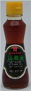Kadoya Brand 100% Pure Sesame Oil 5.5 OZs