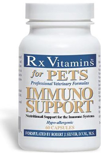 3 Pack Immuno Support Rx Vitamins Professional Veterinary Formulas for Pets 60ct Each, (Value Pack of 3) by IMMUNO SUPPORT