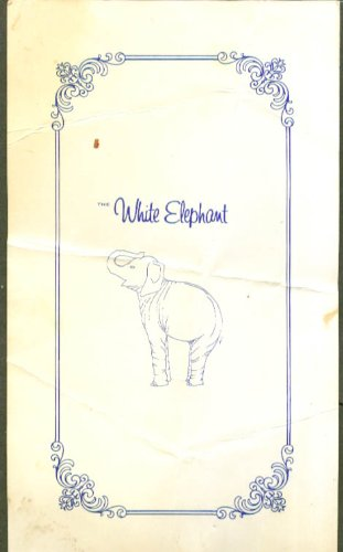The White Elephant Restaurant Breakfast Menu -