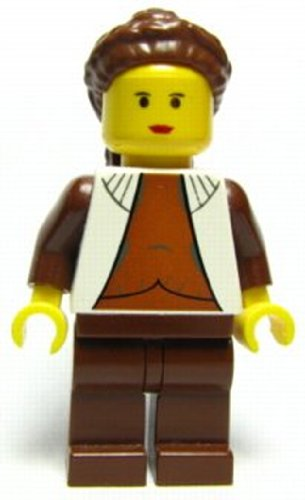 LEGO Star Wars Original Princess Leia Cloud City 10123 Minifig Minifigure