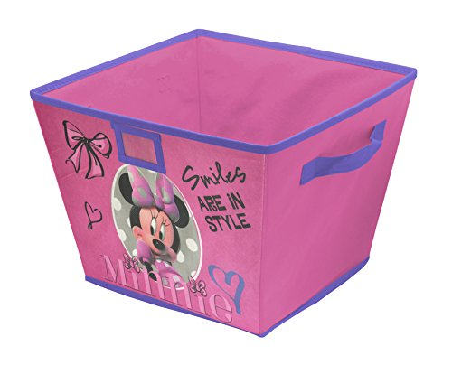 Disney Minnie Mouse Stackable Storage Bin, 10