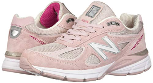 New Balance Men's 990v4 Running Shoe, Faded Rose/Komen Pink, 7 D US by New Balance (Image #5)