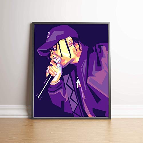 Travis Scott Limited Edition Poster Wall Art Wall Merchandise (Additional Sizes) (11x14) (Photographic Edition Print Limited)