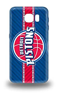 Tpu Fashionable Design NBA Detroit Pistons Rugged Case Cover For Galaxy S6 New