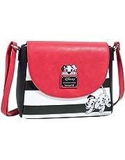 Loungefly x Disney 101 Dalmatians Striped Faux Leather Crossbody Bag