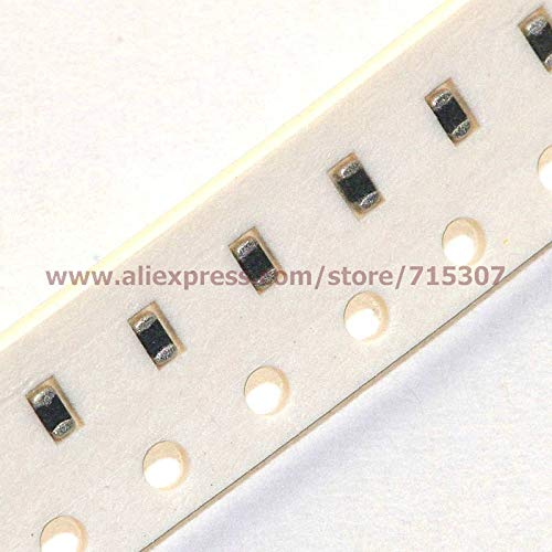 Davitu 200pcs SMD chip varistor 0603 (1608, L x W = 1.6 x 0.8mm) 30V 20A, Max DC Volts = 22V - (Color: 230pF)