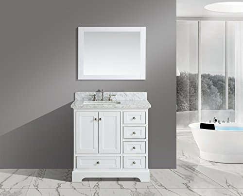 Furnishing Jocelyn Single Bathroom Carrara