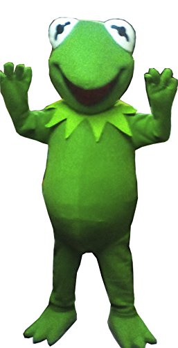 Kermit The Frog Costume For Men (Handmade Kermit the Frog Mascot Costume Adult Costume / Delivery Time 3 to 4 Weeks)