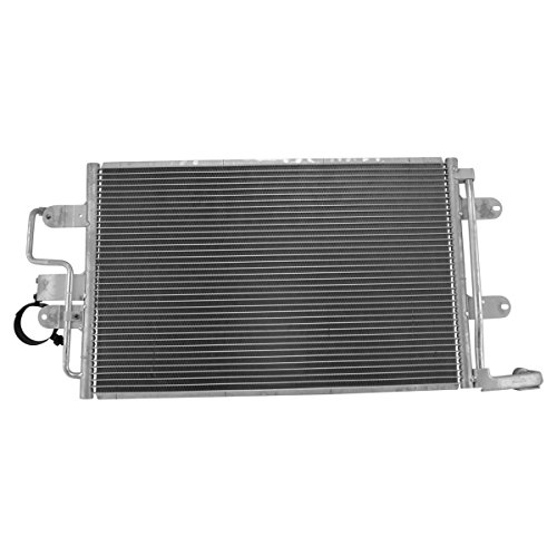 (AC Condenser A/C Air Conditioning Direct Fit for Audi TT VW Jetta Golf Beetle)