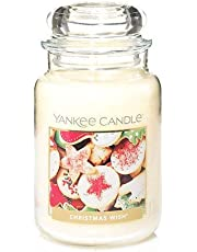 Yankee Candle Christmas Wish Jar Candle with Lid