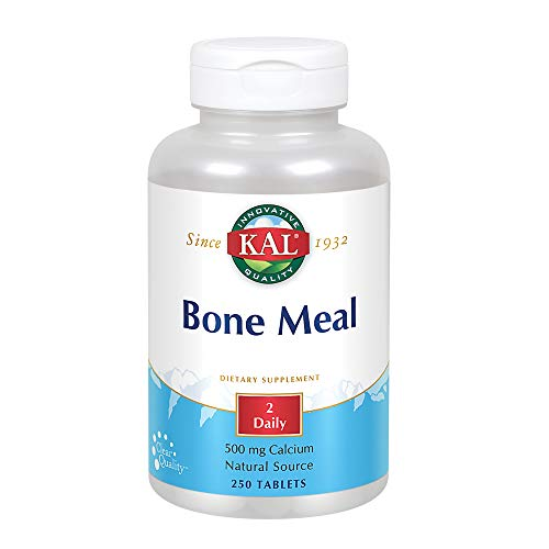 Kal Bone Meal Tablets, 250 Count