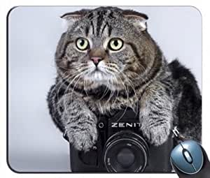 Camera Cat Love G5v57 Mouse Pad