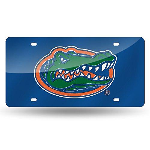 NCAA Florida Gators Laser Inlaid Metal License Plate Tag