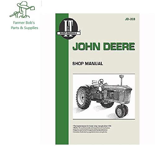 n Deere Models, 3010, 3020, 4010, 4020, 5010, 5020 & more Farmer Bob's Parts JD203 ()