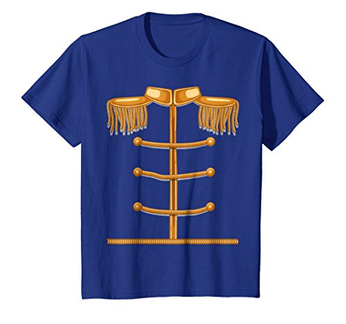 Kids Charming Prince Easy Cosume Shirt - Funny Halloween Gift Tee 12 Royal (College Costumes For Boys)