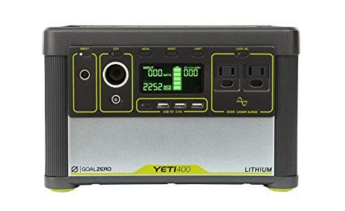 Goal Zero Yeti 400 Lithium Portable Power Station,...
