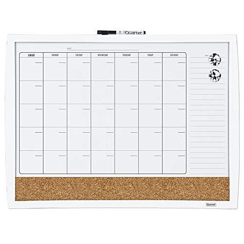 - Quartet Combination Magnetic Whiteboard Calendar & Corkboard, 17