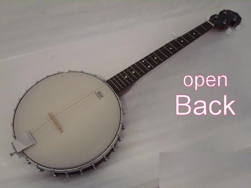 Ktone 5 String Banjo, Open Back, Remo Head, Free Gig Bag by Ktone
