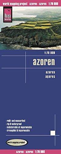 Reise Know-How Landkarte Azoren (1:70.000): world mapping project (Englisch) Landkarte – Folded Map, 8. Mai 2013 383177207X Karten / Stadtpläne / Europa Portugal Gazetteers & Maps)