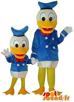 Tío-Duo traje Scrooge y el Pato Donald: Amazon.es: Juguetes y juegos