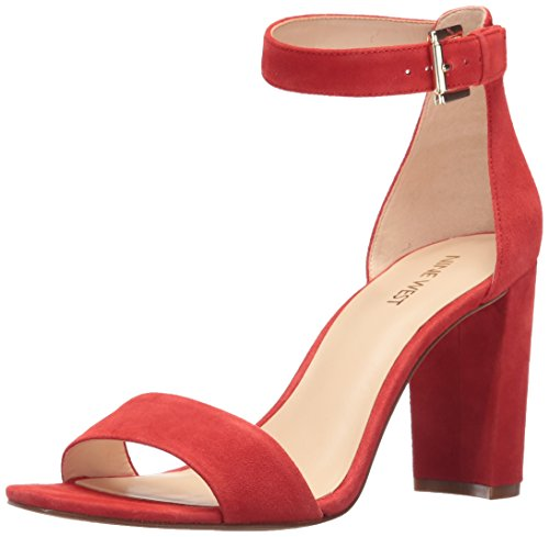 Sandal West Dress Red Nora Women's Nine waUqSS