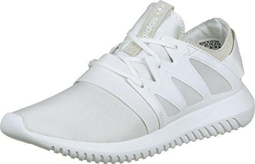 adidas Tubular Viral W, Zapatillas de Gimnasia para Mujer, Gris, 36 EU Blanco