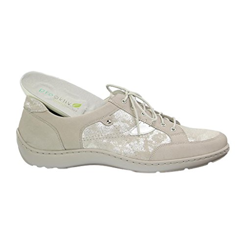 Zapato HENNI para mujer con cordones gris WALDLÄUFER 496023318070 qECZP