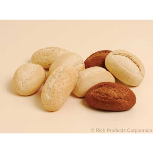 Rich Exact Back Par Baked Assorted Dinner Roll, 1.4 Ounce -- 144 per case. by Rich Products Corporation