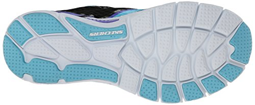 Skechers Sport Infusión la zapatilla de deporte de la manera Negro/multi