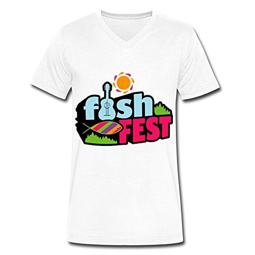 fishfest-logo-fashion-v-neck-t-shirt-for-men-white