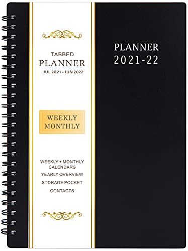 Image of 2021-2022 Planner - Jul 2021- Jun 2022, Academic Planner 2021-2022 with
