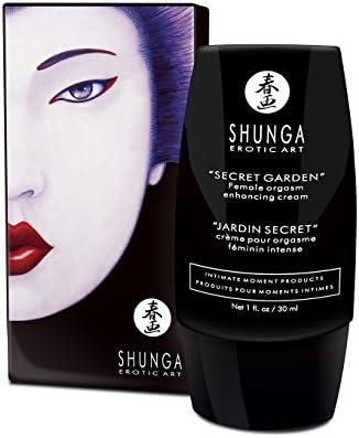 Shunga ☆ sexuales Potencia ☆ Secret Garden Orgasm clítoris Creme 30 ml: Amazon.es: Salud y cuidado personal