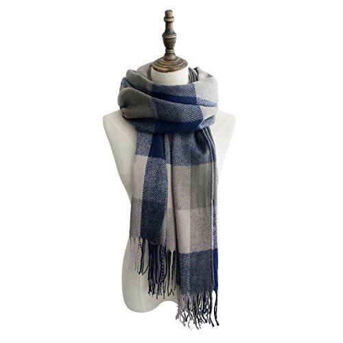 Sale Gifts - PikiBaby Fashion Long Shawl Big Grid Winter Warm Lattice Large Scarf
