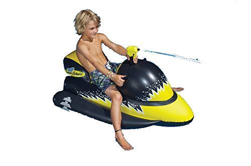 (Laser Shark Wet Ski Squirter Pool Float Toy)