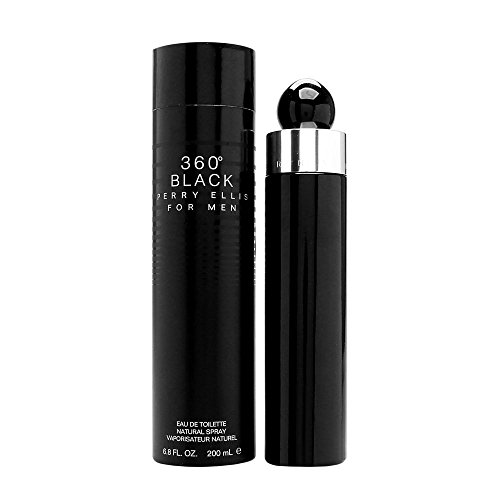 (PERRY ELLIS 360 Black for Men Eau De Toilette Spray, 6.8 Ounce)