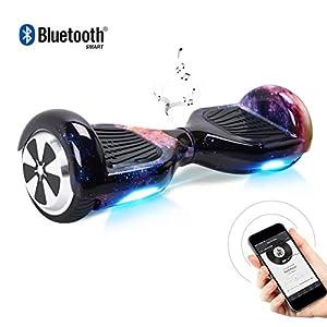 """41aqqihLB L. SS300 BEBK Hoverboard 6.5"""" Smart Self Balance Scooter Autobilanciato Skateboard con 2 * 250W Motore, LED, Monopattino Elettrico"""