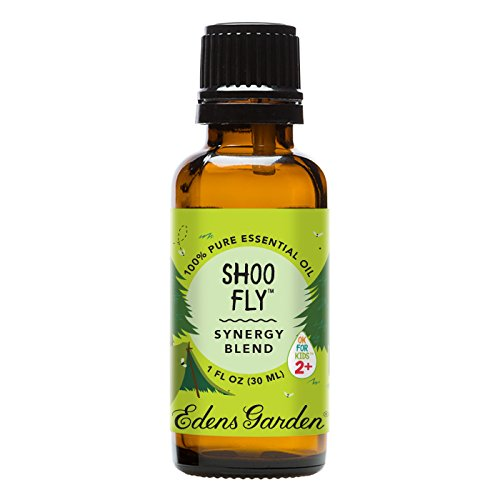 Edens Garden Shoo Fly 30 ml Synergy Blend 100% Pure Undiluted Therapeutic Grade GC/MS Certified Essential Oil