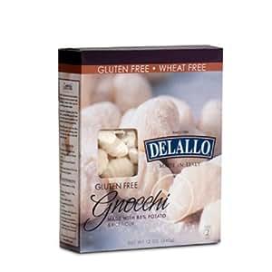 Delallo Gluten Free Potato and Rice Gnocchi, 12 Ounce - 6 per case.