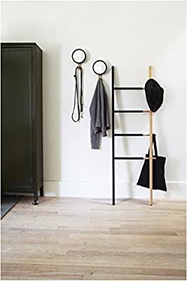 Umbra Hub Floor Length Mirror with Storage Rack