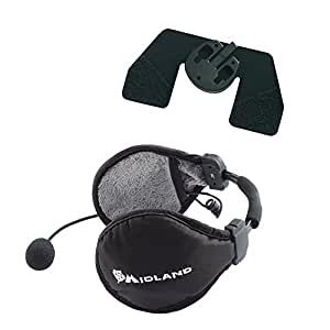 Midland BT SKI AUDIO KIT Binaurale Diadema Negro auricular con micrófono - Auriculares con micrófono (Industry, Binaurale, Diadema, Negro, Inalámbrico, Supraaural)