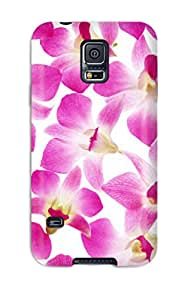New Style Case Cover NmEqreF15829EFvIb Flower Widescreen Compatible With Galaxy S5 Protection Case