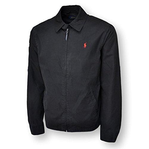 Polo Ralph Lauren Mens Lightweight Jackets (2XL, Black) by Polo Ralph Lauren