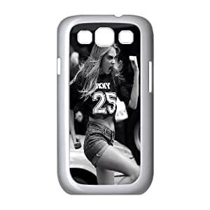 TOSOUL Cara Delevingne Phone Case For Samsung Galaxy S3 I9300 [Pattern-1]