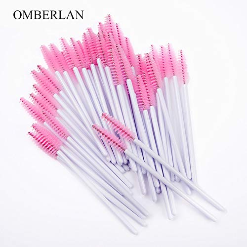 Best Quality - Makeup Brushes - 300Pcs/Pack Eyelash Brush Mascara Wands Disposable Applicator Makeup Brushes for Eyelash Comb Brush Makeup Tool Eyelash - by Olwen Shop