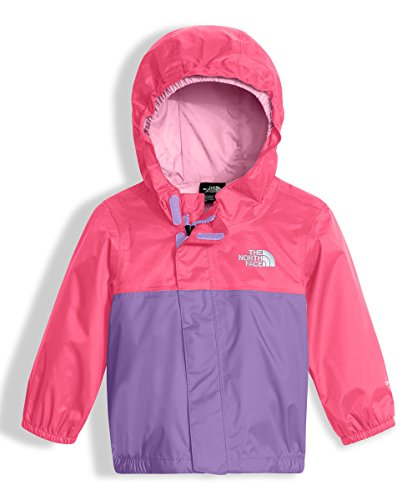 The North Face Baby Girls' Tailout Rain Jacket - honey suckle pink, 6 - 12
