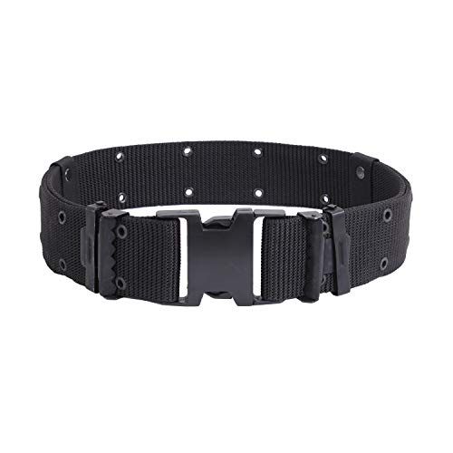 Rothco New Issue Quick Rls Pistol Belt, Black, Medium