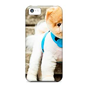 AngelaMs Iphone 5c Hybrid Tpu Case Cover Silicon Bumper Boo The Cutest Dog