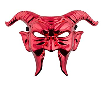 COOLMINIPRIX Máscara diablo rojo metalizado – Calidad