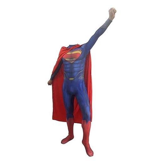 HYYSH Superman Disfraz Adulto Niños Niño Juguete Papel Ceremonia ...