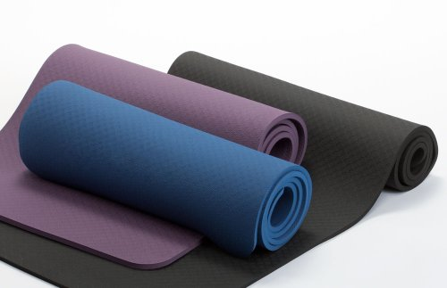 Ecowise Pilates Mat, Amethyst